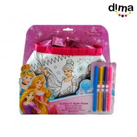 Colorea tu bolso princesas