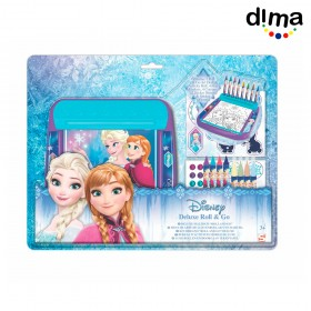 Estuche de arte roll and go frozen
