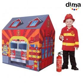 Carpa estación de bomberos