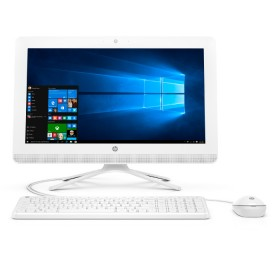 "PC All in One HP 20-C018 A4 19.5"" Blanco"