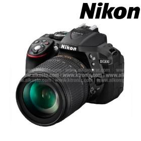 Camara NIKON D-5300 Profesional  + Estuche + Memoria 8 GB Negra