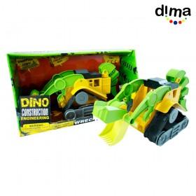 Dino construction grande verde