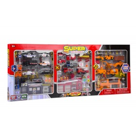 Super set de 100 piezas Express wheels