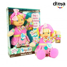 Muñeca buttons and bows