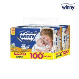 Pañal WINNY Gold Etapa 2 x 100 Precio Especial