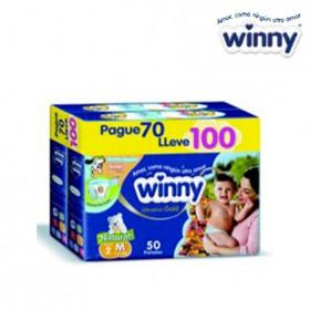 Pañal WINNY Gold Etapa 2 Caja 100 + Toallitas húmedas