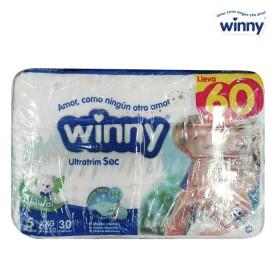 Pañal WINNY Ultra Sec Etapa 5 Caja 60