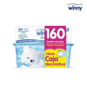 Toallitas WINNY Recién Nacido 2 Cajas x 80 unid. Caja decorativa