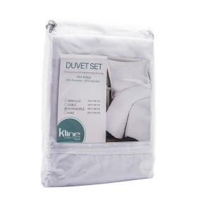 Duvet K-LINE Sencillo Sesgo Blanco 144 hilos