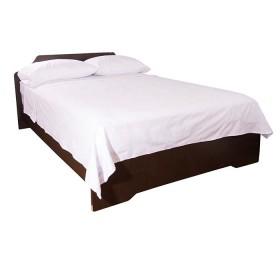 Semijuego de cama K-LINE Extradoble Ajustable Blanco 144 hilos