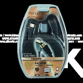 Cable INFINITO HDMI/HDMI 1Mt