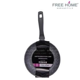 Sartén Inducción - FREE HOME 22 cm Gris BFT-MFP
