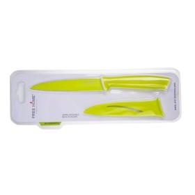 Cuchillo de Cocina FREE HOME Utilidad 12.7 Cms Verde