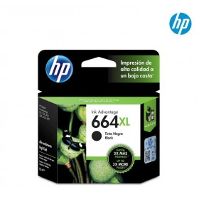 Cartucho HP 664XL Black Ink