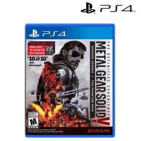 Videojuego PS4 Metal Gear Soild V: Definitive Experience