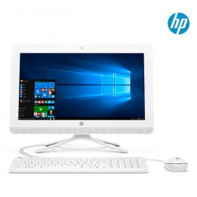 """PC All in One HP 20-C018 A4 19.5"""" Blanco"""