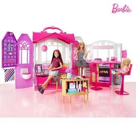 BARBIE casa glam con muñeca. CFB65