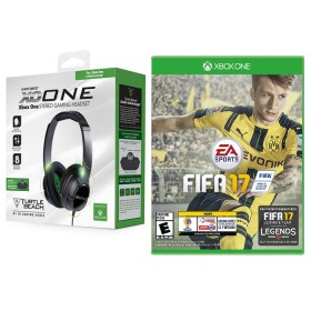 Audífono Turtle Beach Ear Force XO1 + Videojuego XBOX ONE FIFA 17