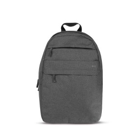 "Morral TECHBAG Poliester 15"" Gris"