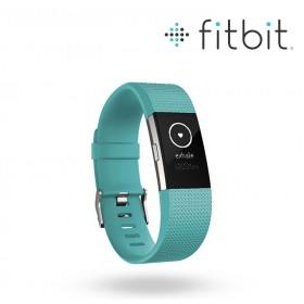FIBIT Charge 2 Teal-Silver S