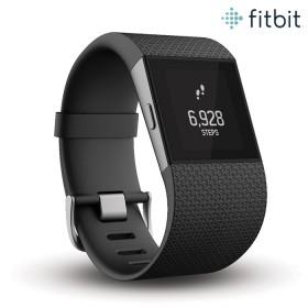 Surge Fitbit Reloj Negro L
