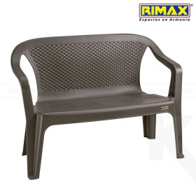 Silla Eterna Doble RIMAX Wengue