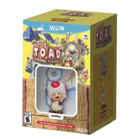 Kombo videojuego WiiU Captain Treasure + Amiibo Toad