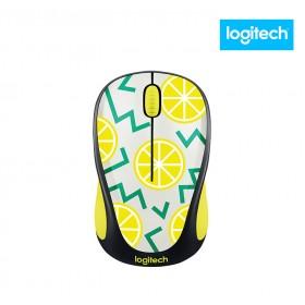 Mouse inalámbrico LOGITECH Optico 317 Lemon