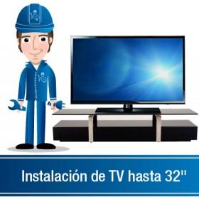 "Instalación de TV  32"" a 39"" sin base"