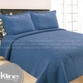 Cubrecama K-LINE Doble Lavare Azul
