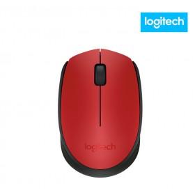 Mouse LOGITECH Óptico Inalámbrico M170 Rojo