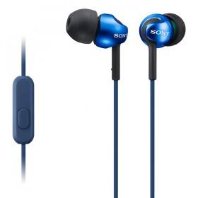 Audífonos SONY In Ear MDR-EX110AP Manos Libres Azul