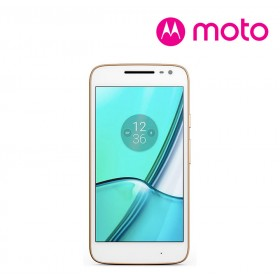 Celular 4G MOTOROLA Moto G4 Play DS Blanco y Dorado