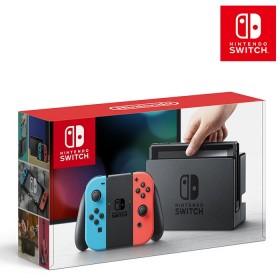 Consola Nintendo Switch Neon Blue- Red  Joy-Con