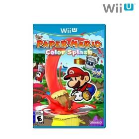 Videojuego Wii U Paper Mario Color Splash