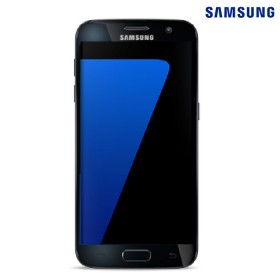 Celular Samsung S7 + Cargador + SD32 Negro