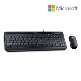 Teclado + Mouse MICROSOFT Wired Desktop 600