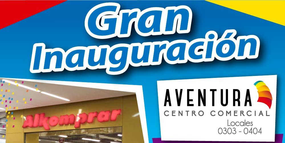 Inauguración Alkomprar CC Aventura