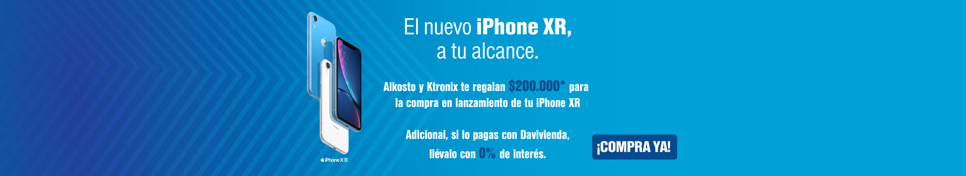Lanzamiento iPhone XR