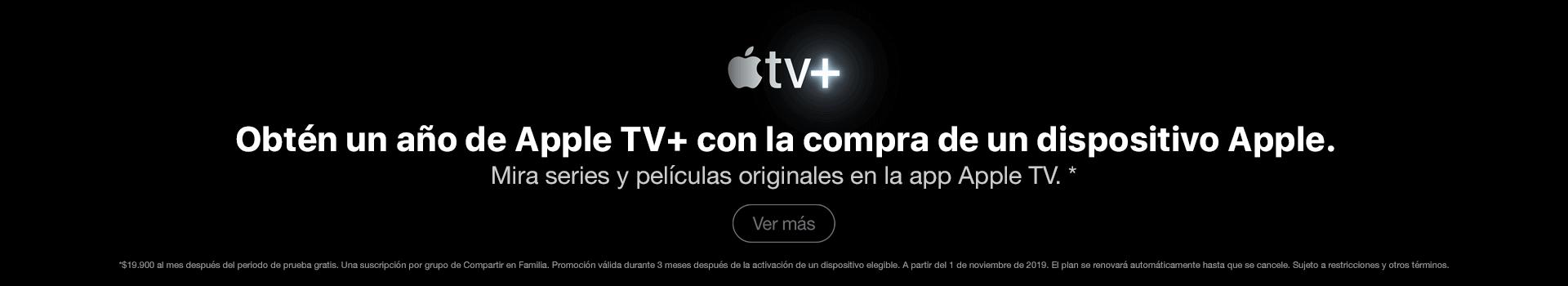 Apple TV por un año