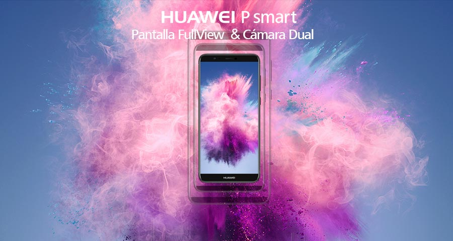 Header HUAWEI P Smart