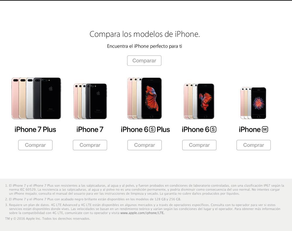 Predisponibilidad iPhone 7 en Alkosto - Ktronix