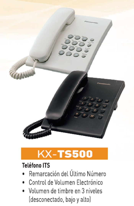 Tel Alambrico Panaso TS500