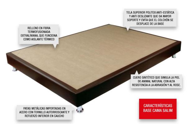 Composición externa de la Base cama Salim
