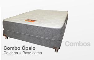 KOMBO Colchón ROMANCE RELAX Ópalo + Base cama