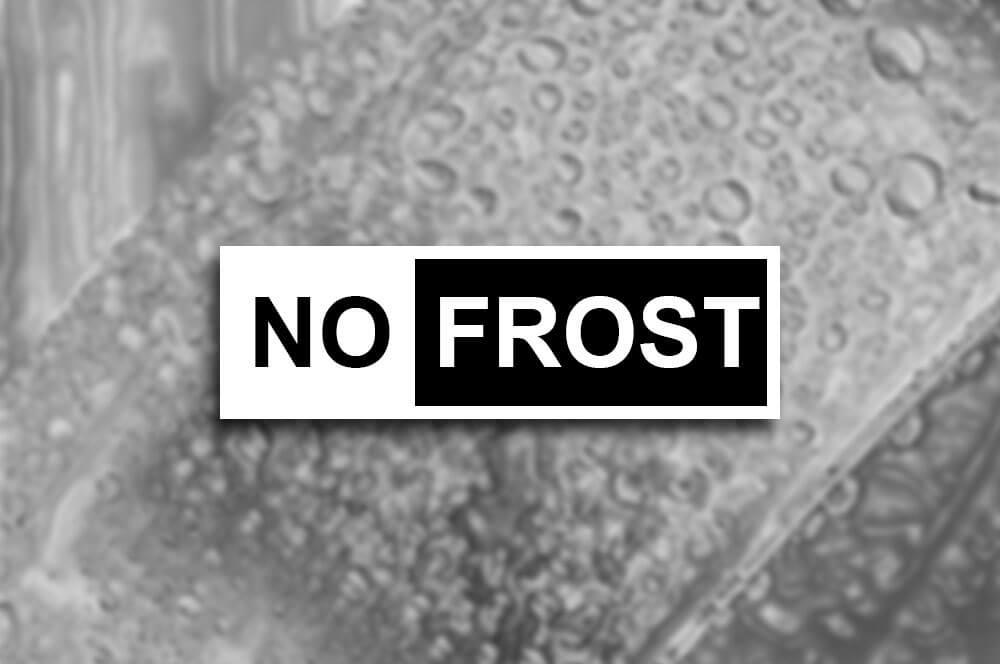 No Frost, No escarcha, No incomodidad.