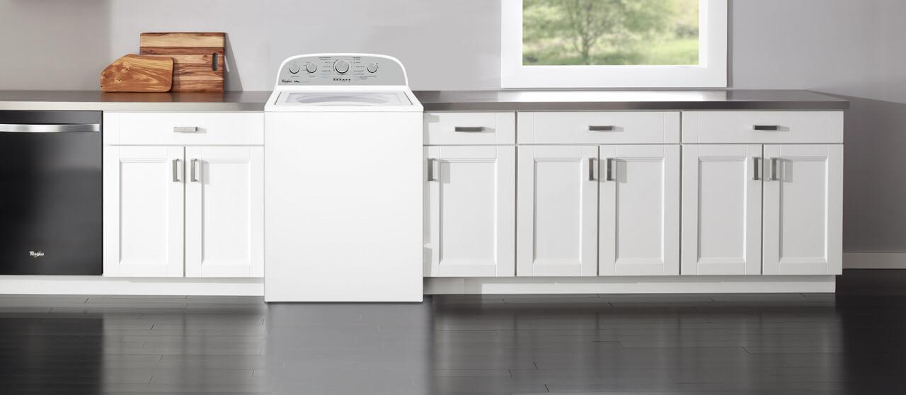 Adapta esta lavadora a los espacios en tu hogar con facilidad