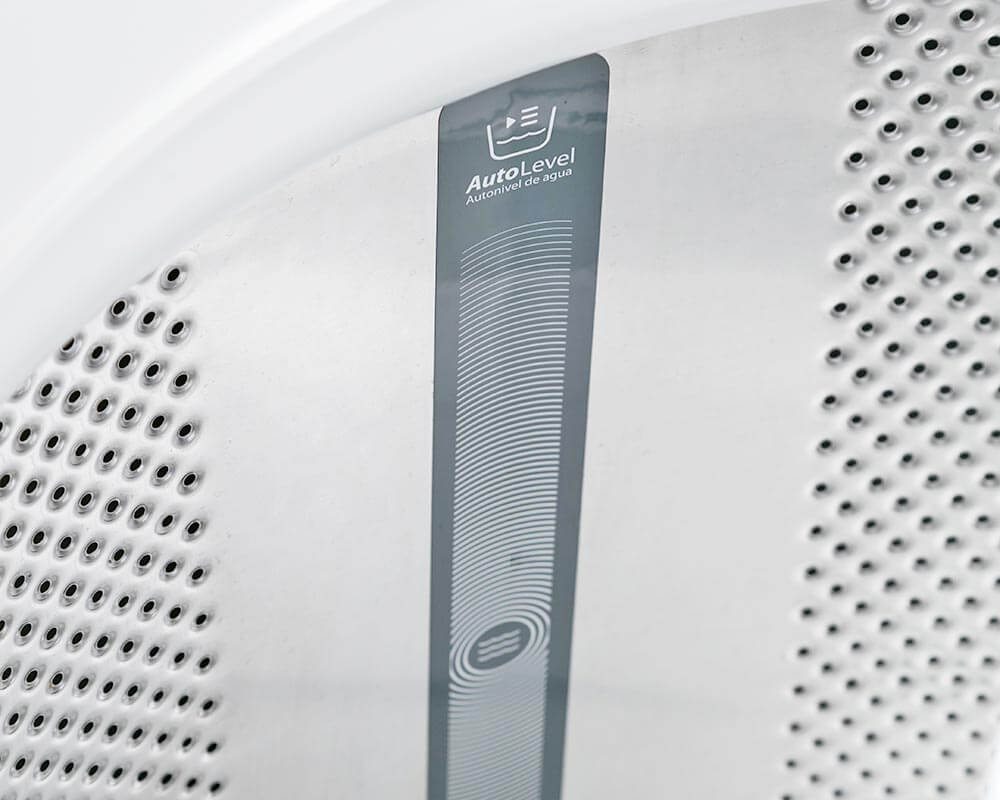 Carga de lavado con autonivel