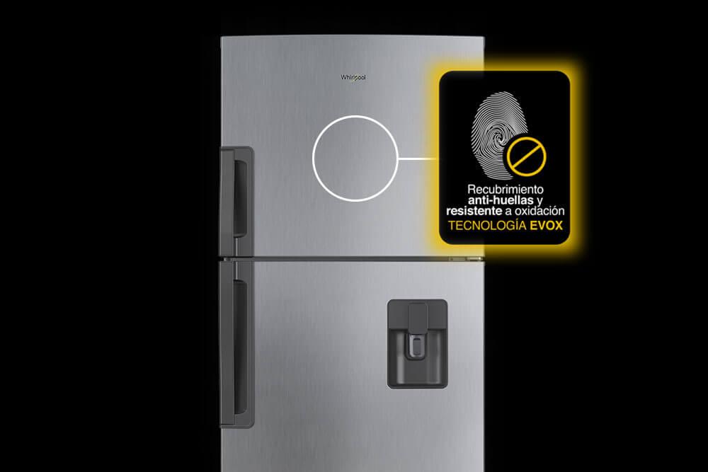 Tecnología EVOX Platinum antihuella.
