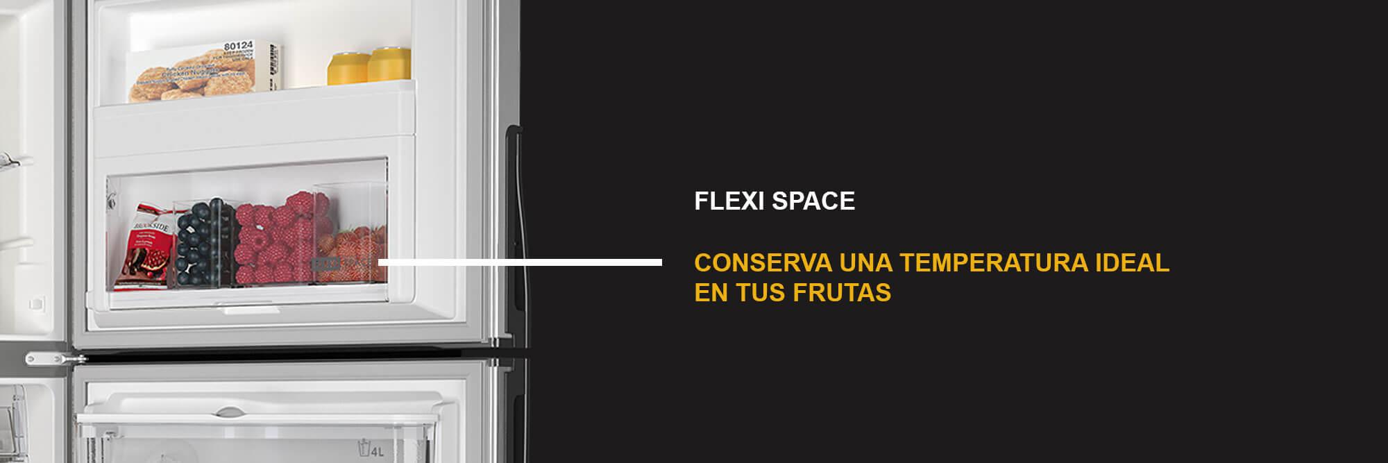 Anaquel Flexi Space. Más adaptación. Mejor organización. Mayor conservación.
